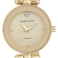 Anne Klein Diamond Marker Bangle Watch, 28mm | Nordstrom