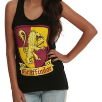 Harry Potter Gryffindor Crest Girls Tank Top
