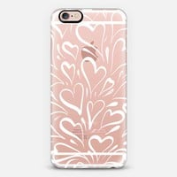 Love is in the Air - Winter (transparent) iPhone 6s case by Lisa Argyropoulos | Casetify