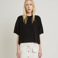 Lylyt Crepe Knit Top by Acne Studios- La Garçonne