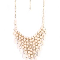 Beaded Statement Necklace - Jewelry - ACCESSORIES - WOMEN - Foreign Exchange