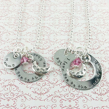 Matching Mother/Daughter Necklaces by LisaJoysDesigns on Etsy