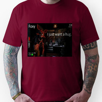 Five Nights At Freddies. Foxy, just wants a hug Unisex T-Shirt