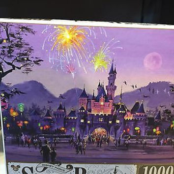disney parks signature puzzle sleeping beauty castle hong kong disneyland new