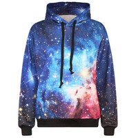 Starry Night  3D Graphic Hoodie- Free Shipping