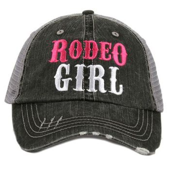 Katydid Rodeo Girl Trucker Hat