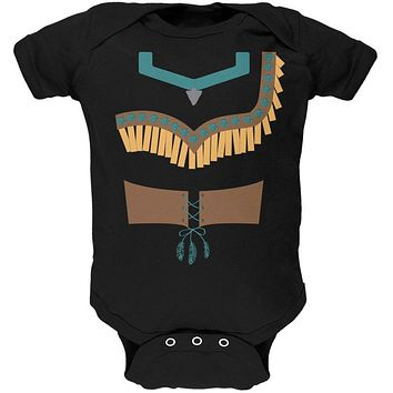 Halloween Native American Princess Costume Soft Baby One Piece