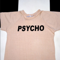 SWEET LORD O'MIGHTY! OG PSYCHO CROP TEE IN NUDE