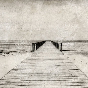 photography  The Pier    Romania  black and by PhotographyDream