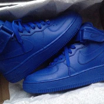 Nike Air Force 1 Custom Red or Blue Sneaker Customization Low Price Quality Sneaker At