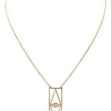 Ellie Vail Willow Eye Pendant Necklace | Nordstrom