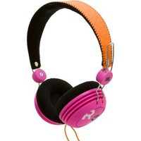 ROXY by JBL Reference 430 On-Ear Headphone - Pink/Orange (Discontinued by Manufacturer)