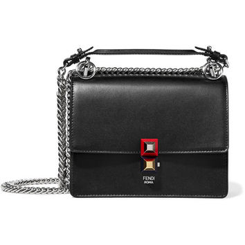 Fendi - Mini leather shoulder bag