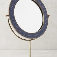 Taiga Mirror by Anthropologie Blue One Size Wall Decor