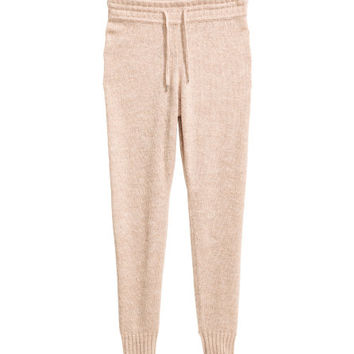 Knit Joggers - from H&M