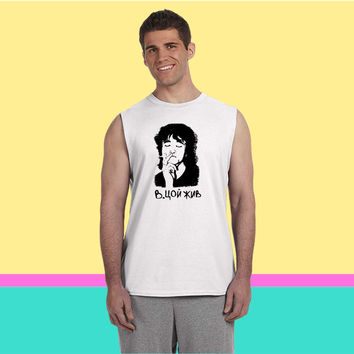 viktor tsoi Sleeveless T-shirt