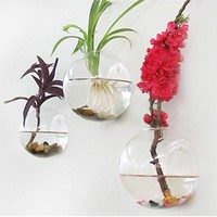 Terrarium Glass Vase Hanging Bottle Hydroponic Plant Pot Flower DIY Home Table Decor