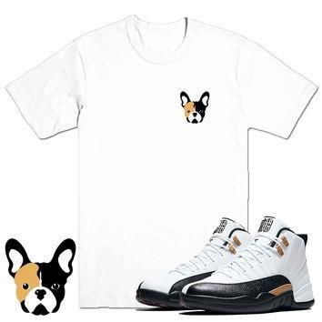 FRENCHIE- Jordan CNY 12's Sneaker Match T-Shirt Tees, Nike Retro