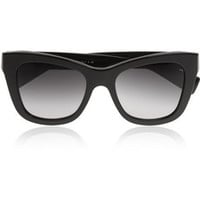 Dolce & Gabbana Mosaico cat-eye embellished acetate sunglasses – 40% at THE OUTNET.COM