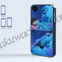 Disney Monsters inc - iPhone 4 case - iPhone 4S case - Samsung Galaxy S3/S4 - iPhone case - Hard Plastic - Case Soft Rubber Case
