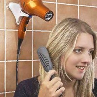 Hands Free Hair Dryer Holder - Compact For Home And Travel! By JUMBL