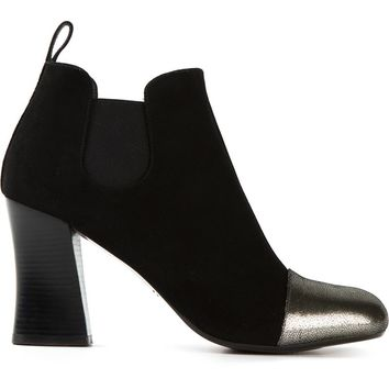 Chie Mihara metallic toe cap ankle boots