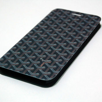 Goyard Paris Pattern Honore iPhone, iPad, Samsung Galaxy Case Cover Series