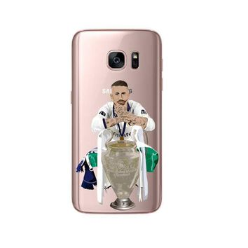 Soccer Star Ronaldo Messi Neymar SOFT TPU Case For Samsung Galaxy J6 J8 A7 2018 S6 S6Edge S7 S7edge S8 S9 plus Cover