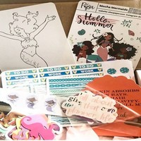 Mocha Glam Box for Planners | Cratejoy