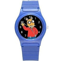 Arthur the TV Cartoon on a Girls / Boys Blue Plastic Watch