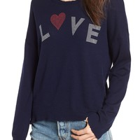 Sundry Love Wool & Cashmere Sweater   Nordstrom