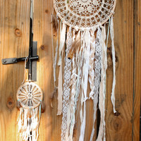 custom doily or lace dream catcher