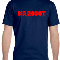 MR ROBOT Men's T-Shirt