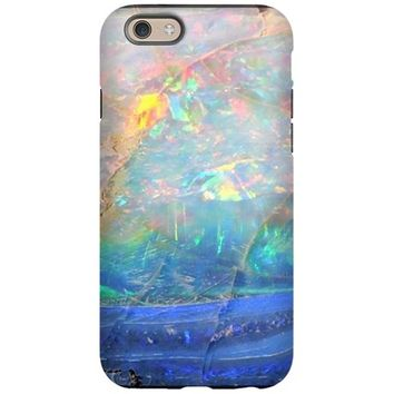 OPAL GEMSTONE IRIDESCENT MINER IPHONE 6 TOUGH CASE
