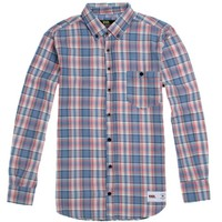 Vandal The Jonesy Flannel Shirt - Mens Shirts - Red