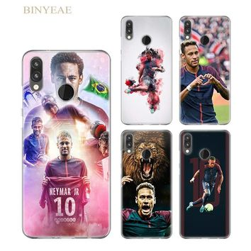 BINYEAE Soccer player Neymar 10 silicone soft TPU case cover for Huawei P smart 8 9 lite 2017 P10 20 lite Pro P9 lite Mini