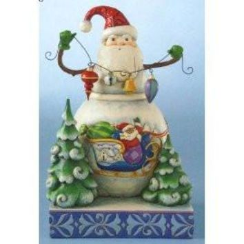 Jim Shore HWC Frosty Santa - 4010625
