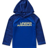 Under Armour Little Boys 2T-7 Long-Sleeve Training Hoodie | Dillards
