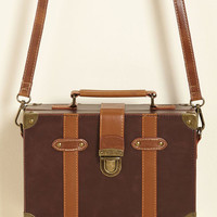 Post-Grad Poise Bag in Mocha | Mod Retro Vintage Bags | ModCloth.com