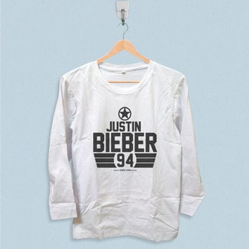 Long Sleeve T-shirt - Justin Bieber