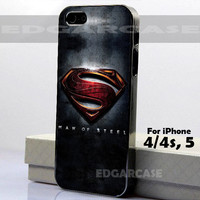 Man Of Steel - Photo on Hard Cover - For iPhone Case ( Select An Option )