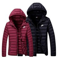 NIKE Women Men Lover Cardigan Jacket Coat