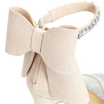CRUISE Diamante Bow Sandals