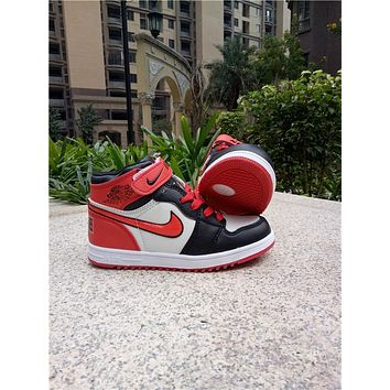 Kids Air Jordan 1 Red Sneaker Shoe Size Us 11c 3y | Best Deal Online