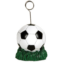 Soccer Ball Balloon Weight / Photo Holder