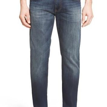 Zach Straight Leg Jeans (Brushed Williamsburg)