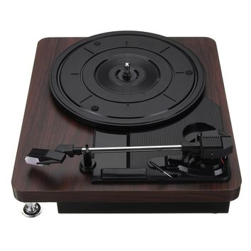 Antique Gramophone Record Player, Turntable Disc,