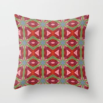 Holiday Bow-ties Throw Pillow by PhotoVista360