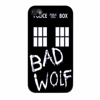 Doctor Who Tardis Bad Wolf iPhone 4s Case