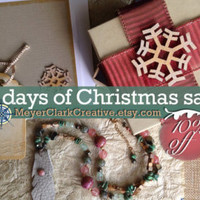 10% OFF Coupon Code: 12DaysChristmasSale by MeyerClarkCreative